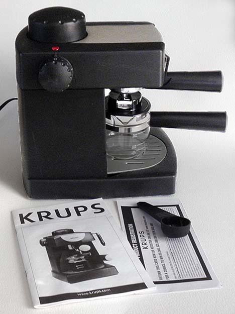 krups cappuccino machine parts